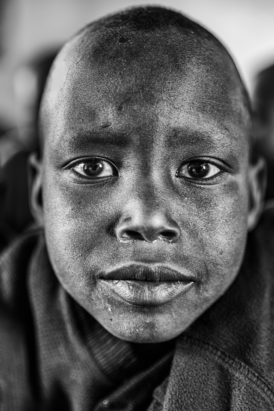 Eyes by giovannivolpe - A Black And White World Photo Contest