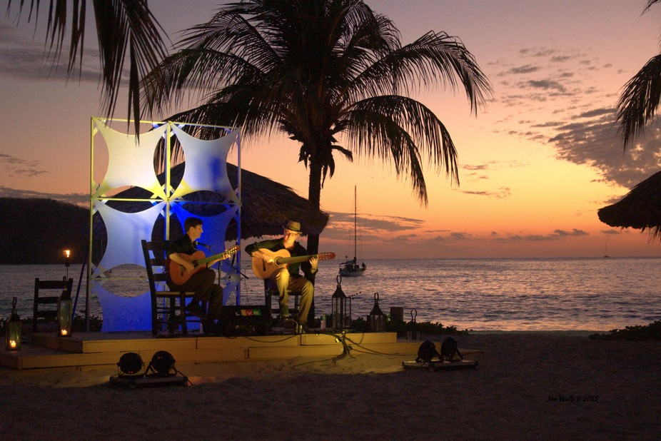 A scene from one of the events at the Zihuatanejo International Guitar Festival in 2015. This was...