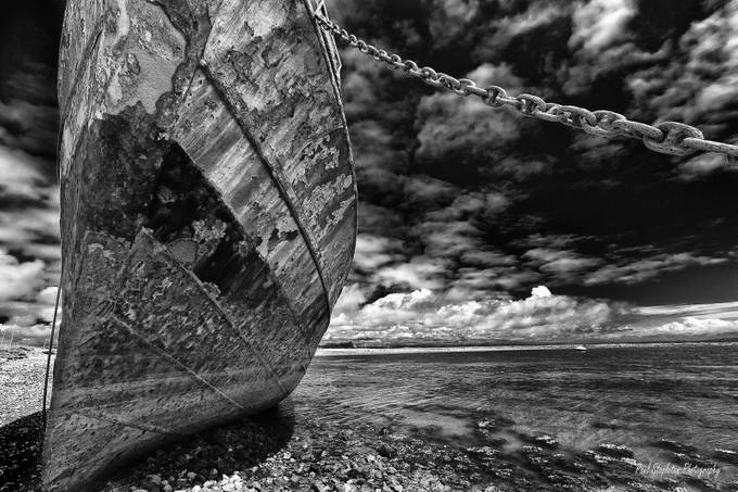 The Final Mooring B&W by Paul-Stapleton - A Black And White World Photo Contest