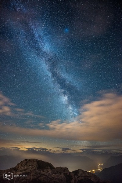Milkyway and clouds