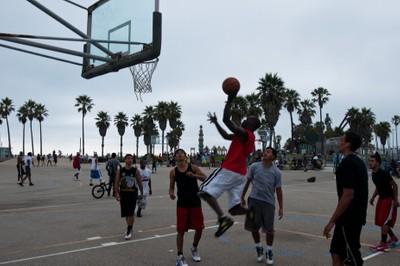 Basketball, Venice Beach