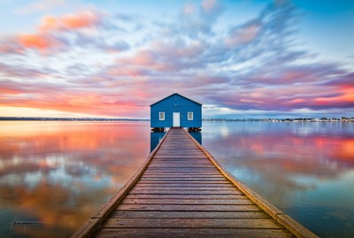 Blue Boat House 2