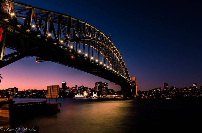 Sydney Harbour Bridge by seanorphoto - Layered Compositions Photo Contest