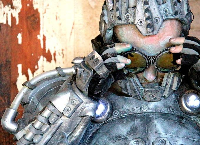 Mr. Freeze by dpinard - Fantasy In Color Photo Contest