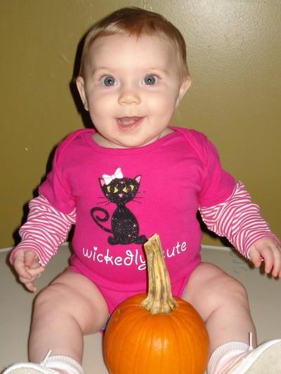 Shaelin's first Halloween