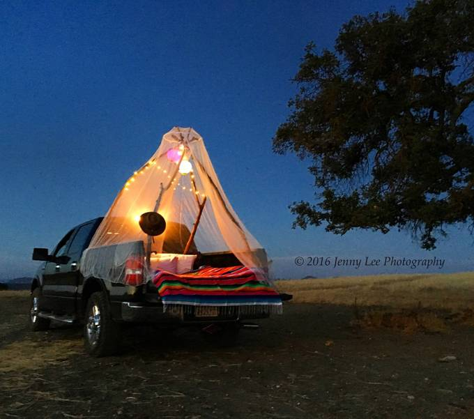 Country Girl Camping  by JennyLee82 - Summer Road Trip Photo Contest
