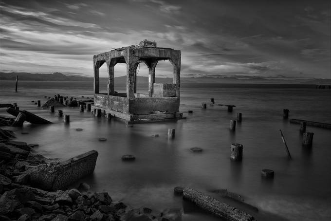 Cast Aside, Cast Away by shawnvoloshin - A Black And White World Photo Contest