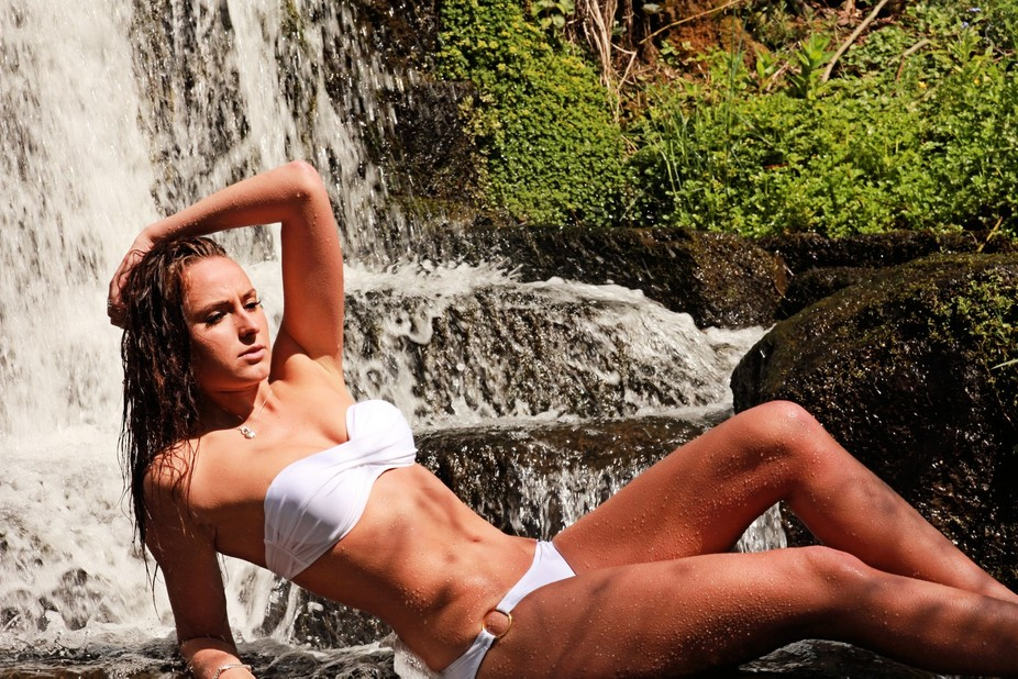 This was taken at Lumsdale waterfall in Derbyshire a few weeks ago model is Frankie