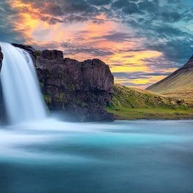 Kirkjufell - one of the most famous and beautifull places in Iceland. I was there for about a week while waiting for the good weather and I think...