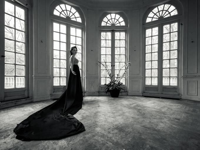 Black dress by chantalnederstigt - The Emerging Talent Awards