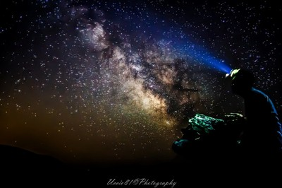 Me and a Milky Way