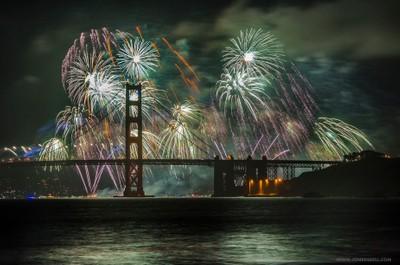 Fireworks, San Francisco