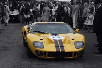 GT40 at Goodwood Revival