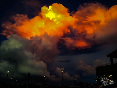 The sky is on Fire 3