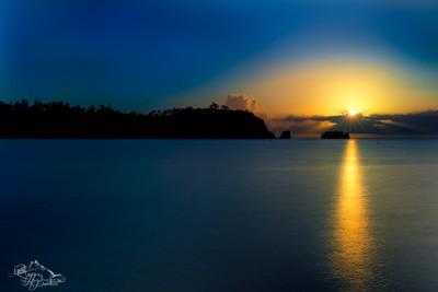 Sunset over Okuma 2