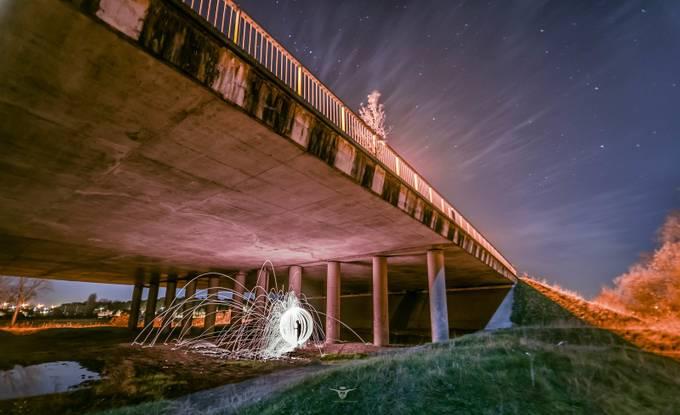 Lonely orbin' under the bridge by K887 - Freshmen 2016 Photo Contest Vol 2