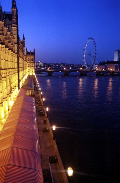 London Eye, from the Lord Chancellor's Office