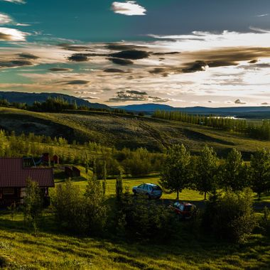 Photos was taken late afternoon in beautiful wether near Fludir, where I have my summerhouse