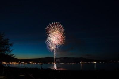 Lake George Fireworks, Lake George NY 07-05-2016
