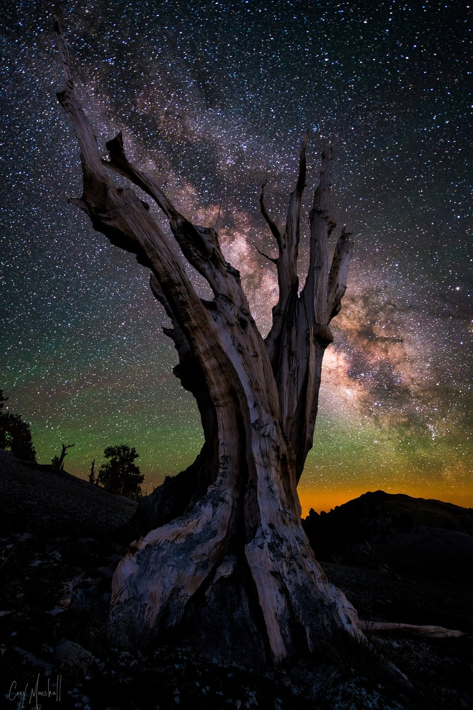 Ghost by corymarshall - Capture The Milky Way Photo Contest