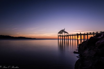 Sunrise Under the Boardwalk