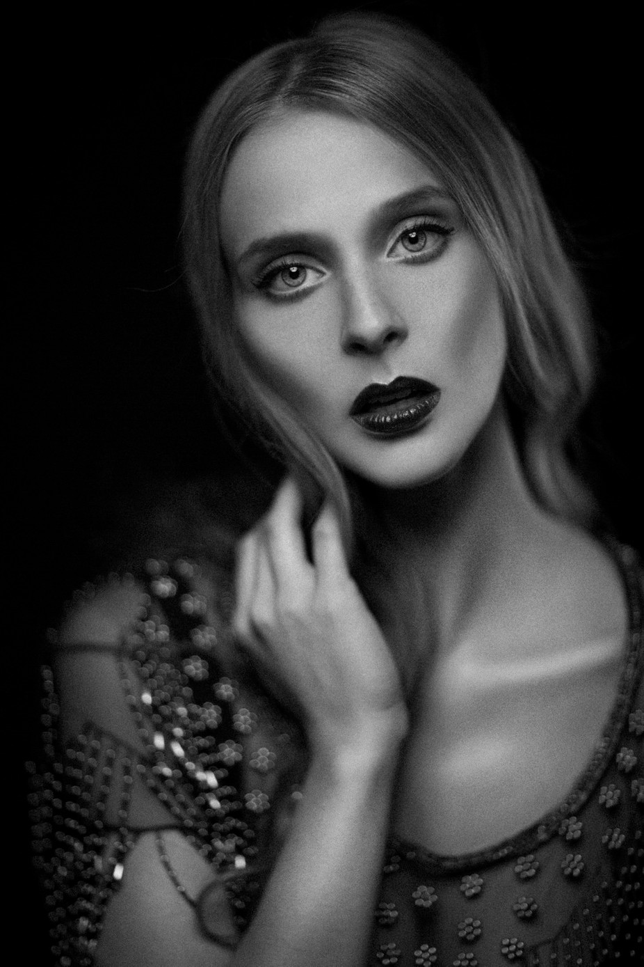 Elaine   by PaulHenryStudios - A Black And White World Photo Contest
