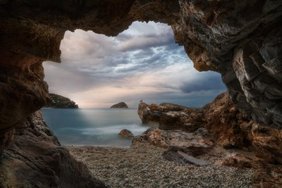a beatiful cave in Liguria ! by Theo-Herbots-Fotograaf