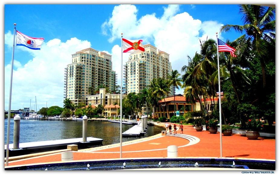 SUNNY SOUTH FLORIDA-FORT LAUDERDALE-RIVERWALK 2016