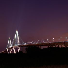 Playing with long exposure photography while on vacation. Taken from Mt. Pleasant, SC.