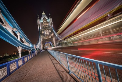 London - London Bus and Tower Bridge