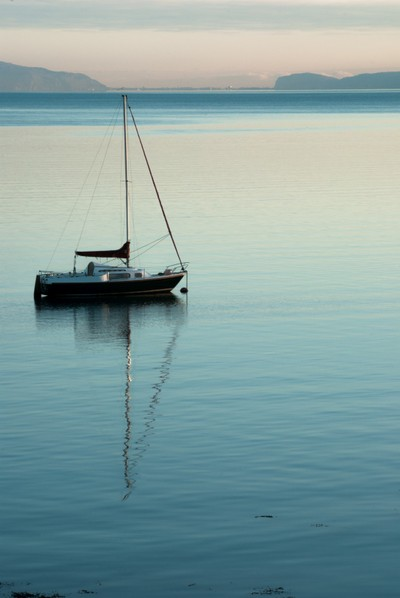 Fishing Boat in the morning