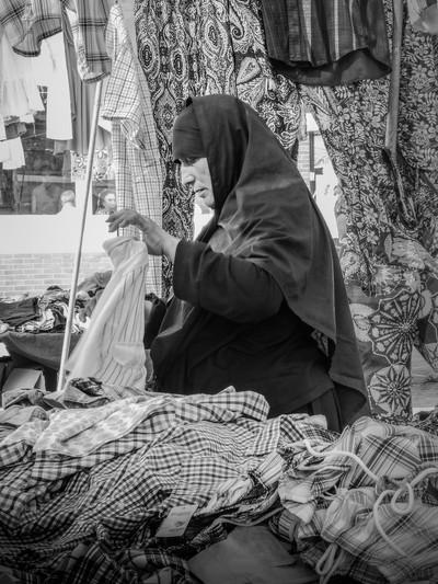 The market vendor