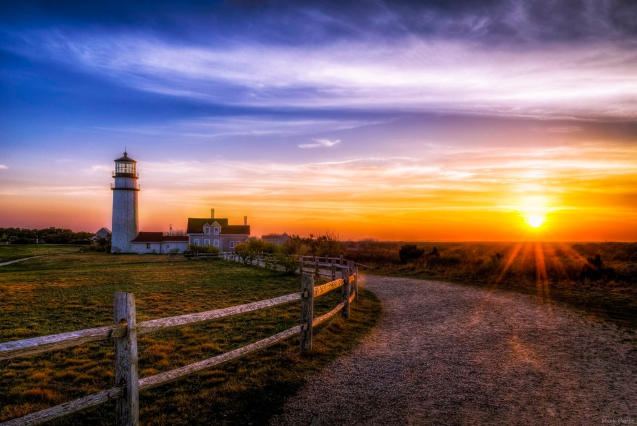The Highland Light House in Cape Cod Ma. Prints available @ http://mark-papke.pixels.com/