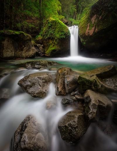Lower Chasm Falls - Tasmania, Australia