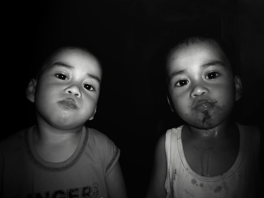 The cutest twins...My Nephews..