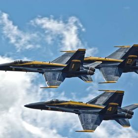 Blue Angels... into the blue