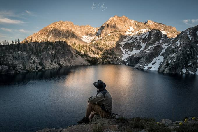 Tranquility Peak by adrianmurray - Spectacular Lakes Photo Contest