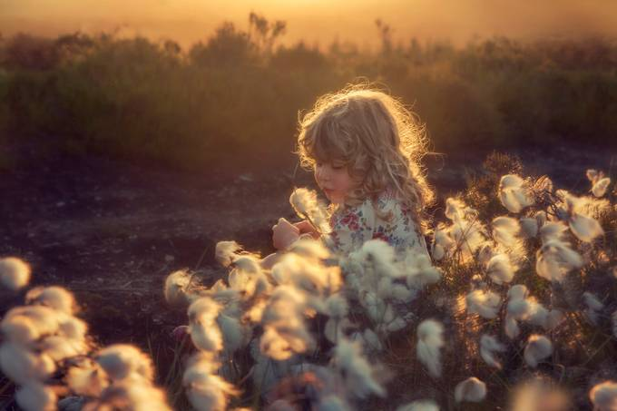 Embrace the light by Wiktoria_irwin - Children In Nature Photo Contest