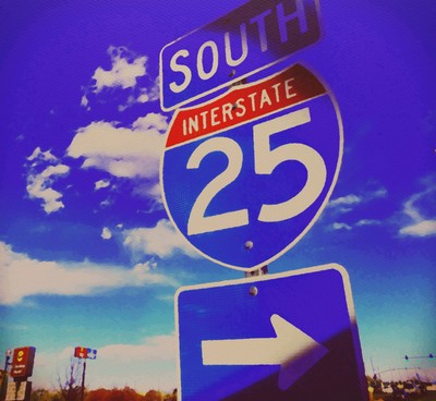 South On 25...
