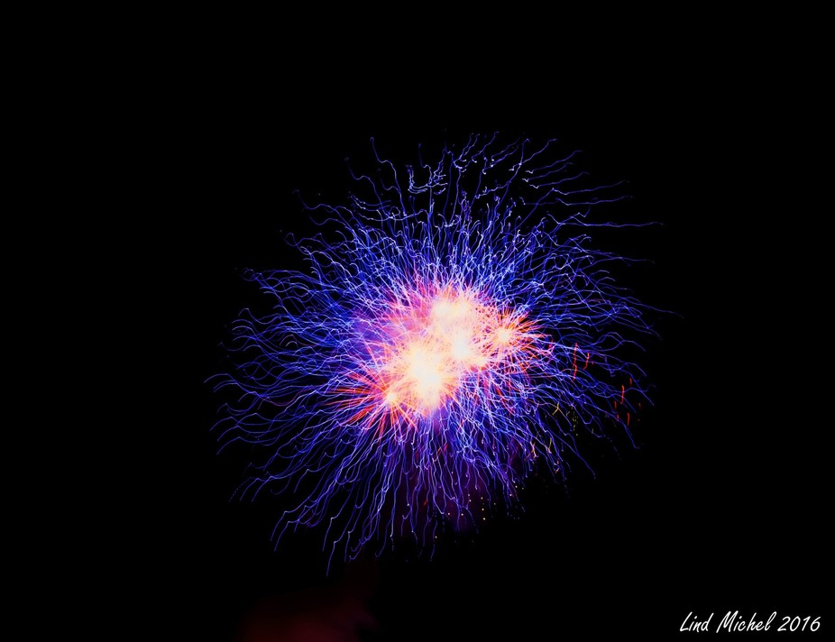 Left my tripod in my vehicle for a recent fireworks display and decided to have a little fun.  Ha...
