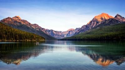 Simple Life On Bowman Lake