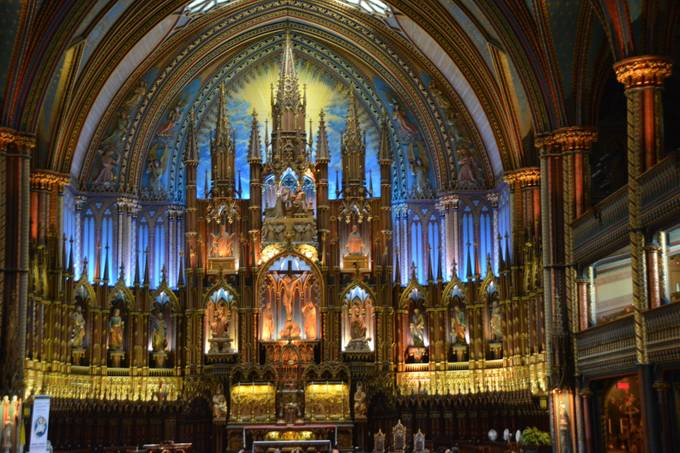 Basilica of Notre Dame Montreal