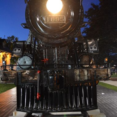 Canadian Pacific steam engine 1095