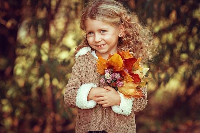 Little Autumn | Liliya Nazarova by liliyanazarova