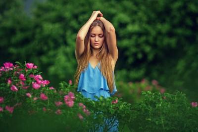 Masha in the Garden | Liliya Nazarova