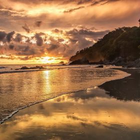 I can shoot this scene every day and it never looks the same.. Costa Rica.