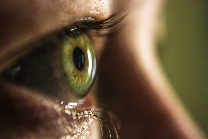 Eye of stephanie by ManintheHatPhotography - Green Eyes Photo Contest