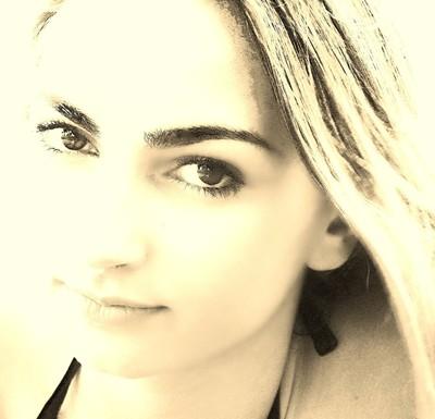 Dark eyed beauty