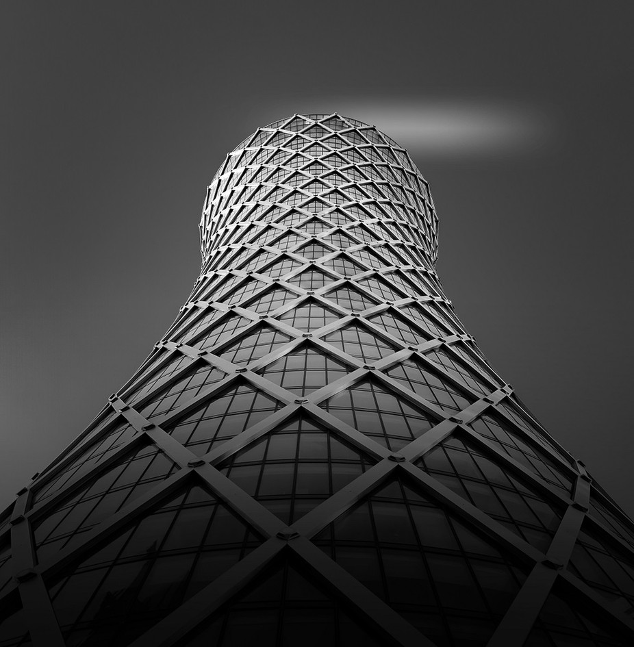 The Grid by stratigm - Structures in Black and White Photo Contest