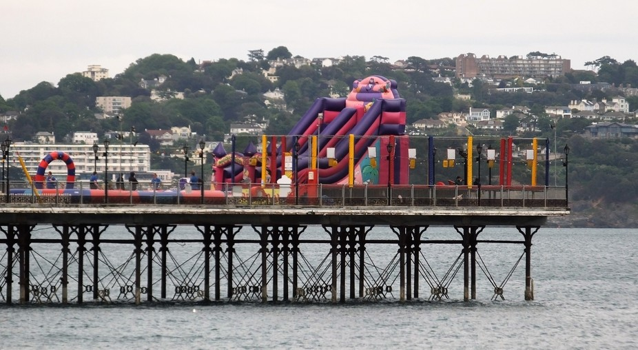 The pier at Paignton in Devon